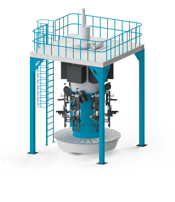 Tek Tartım Tek İstasyonlu Kepek Paketleme Makinası 15/50 Kg1