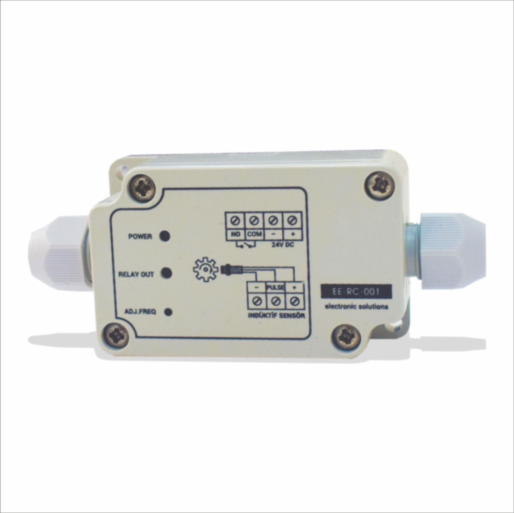 Çift Problu Kapasitif Seviye Sensörü (Eğik Milli)18