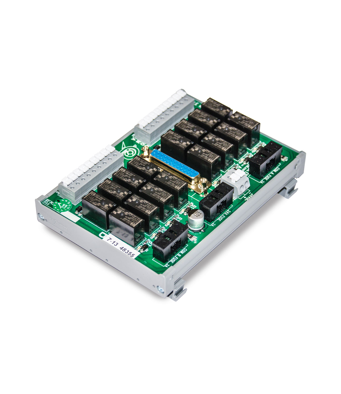 Output Module with PLC Relay