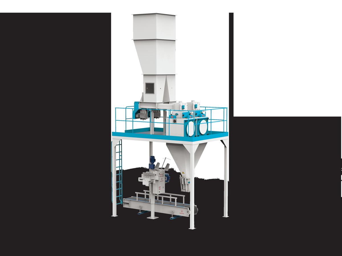 Valve Type Flour Bagging Machine & Six Weigh Hopper 10/25/50 Kg4