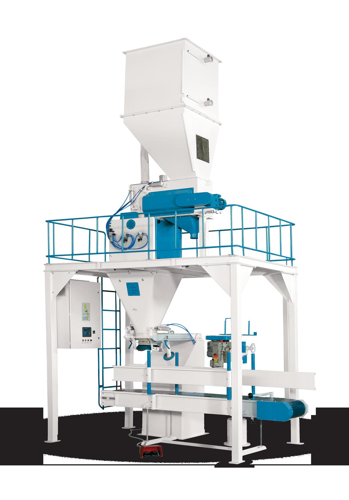 Valve Type Flour Bagging Machine & Six Weigh Hopper 10/25/50 Kg7