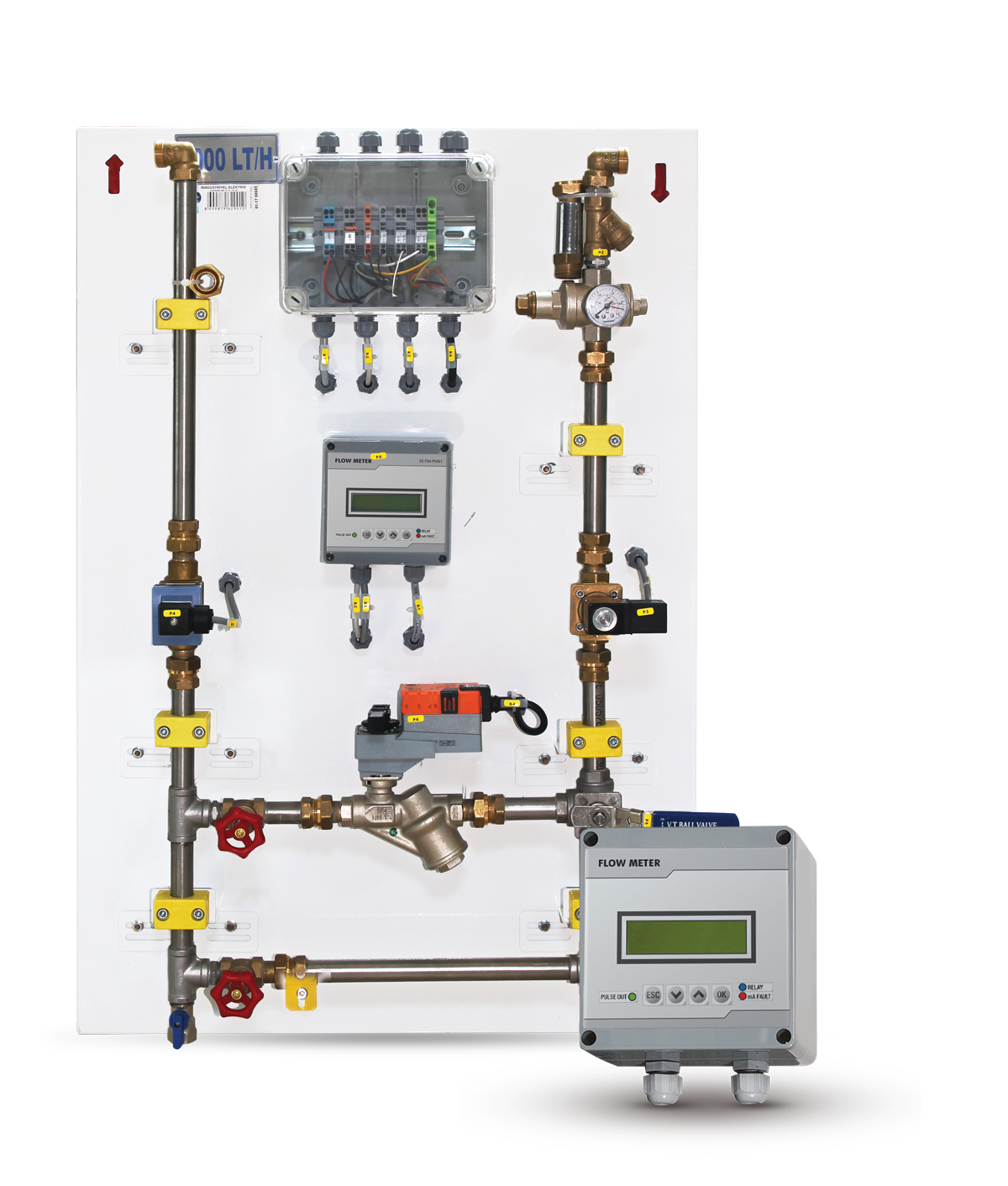 Electro Valve Controlled Mechanical Flowmeters1