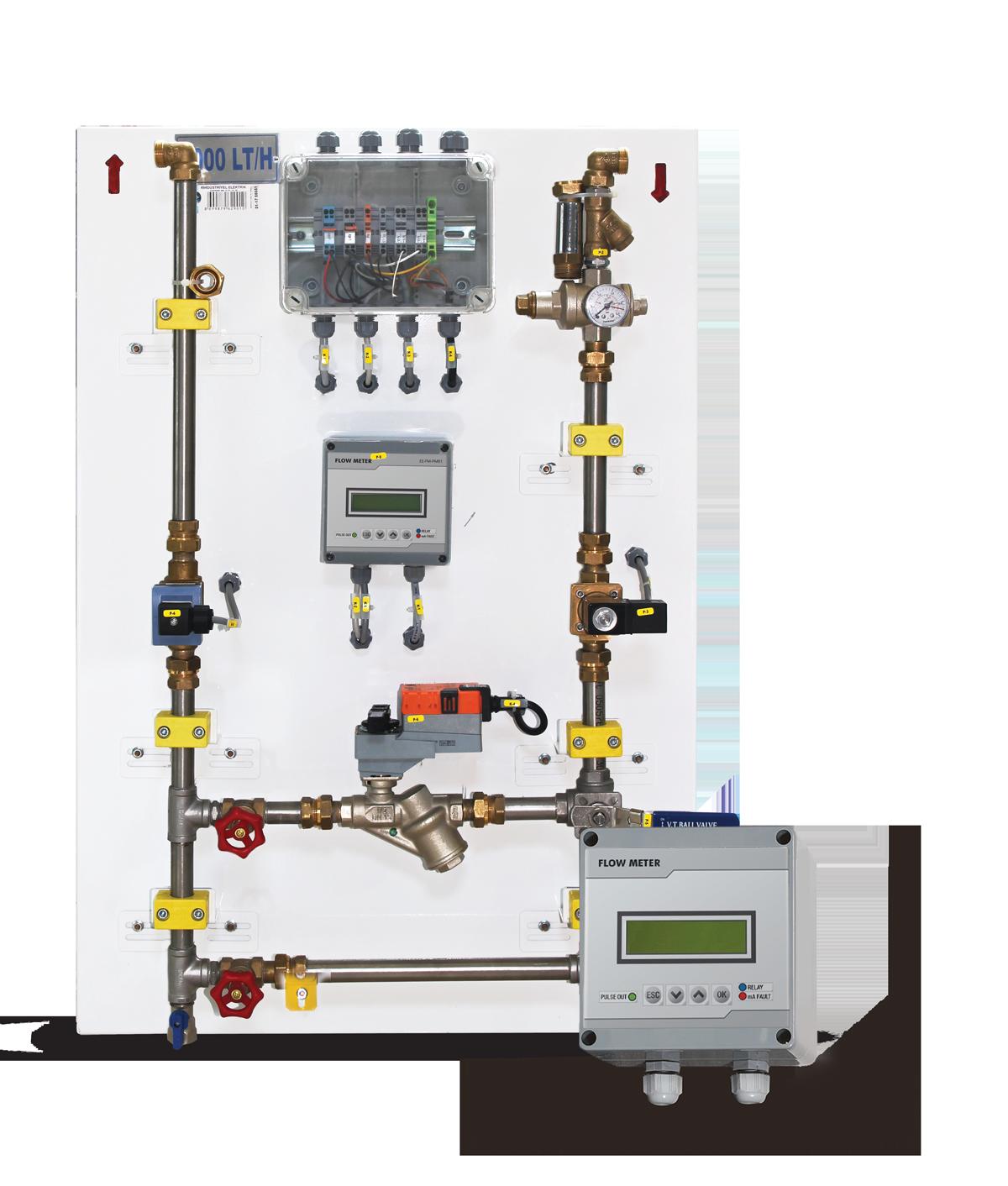 Elektro Valf Kontrollü Mekanik Debimetre1