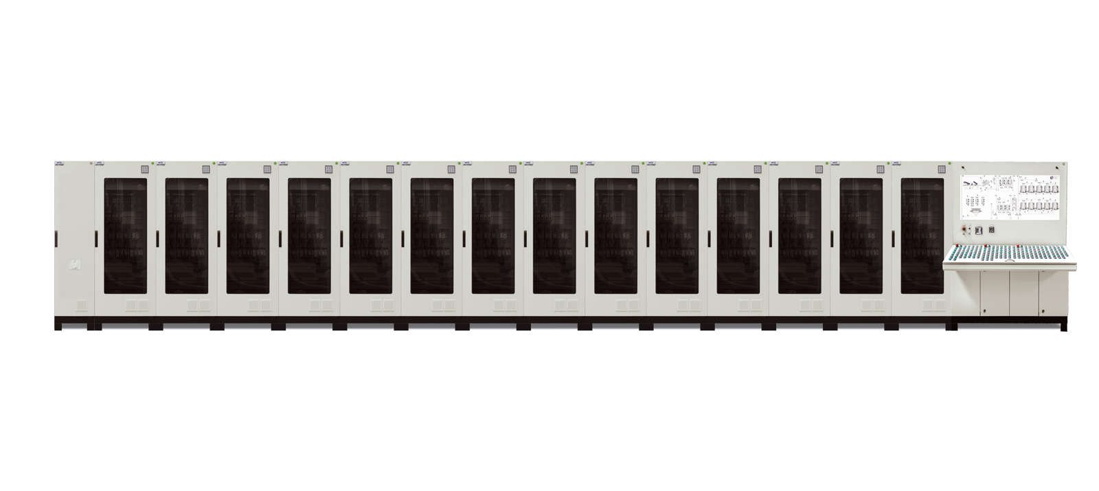 Piano Type and Vertical type Control Panels1