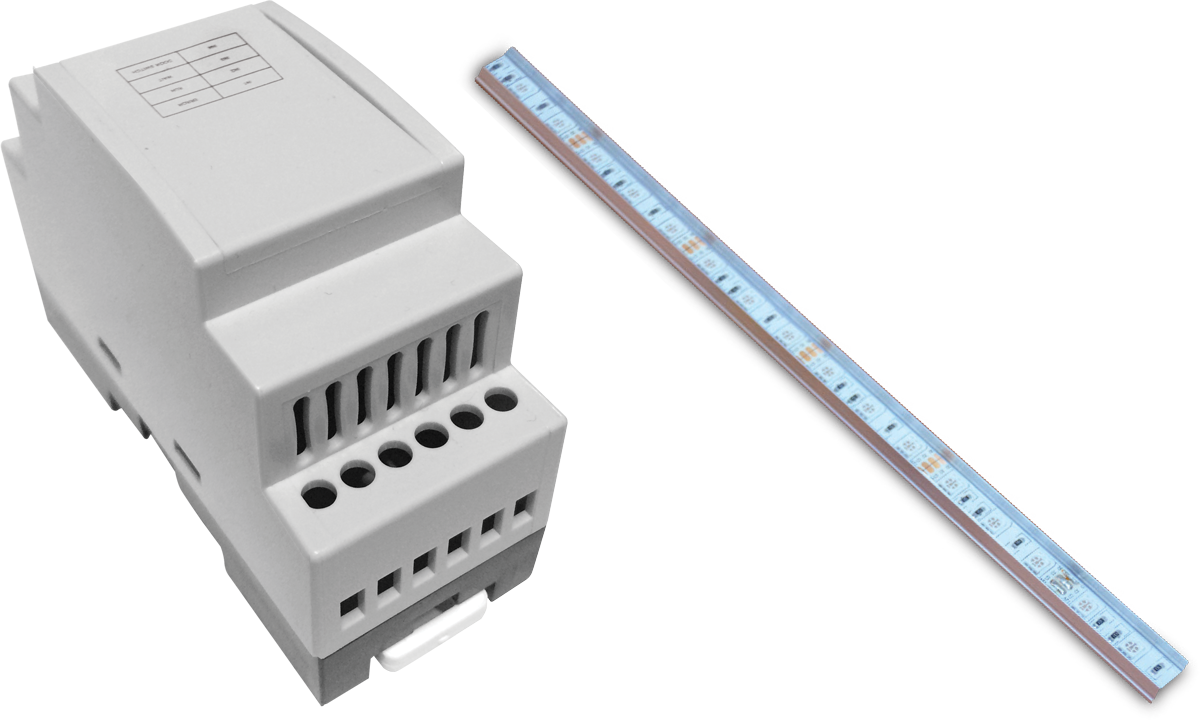 Double Probe Capacitive Level Sensor (with Sloped Shaft)2