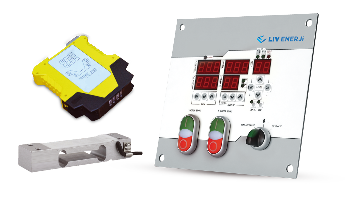 Double Probe Capacitive Level Sensor (with Sloped Shaft)1