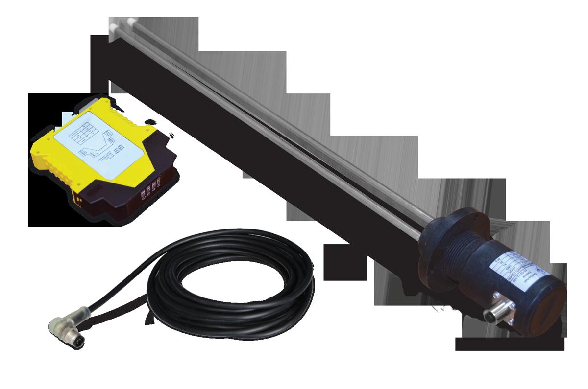 Çift Problu Kapasitif Seviye Sensörü (50-125cm)3