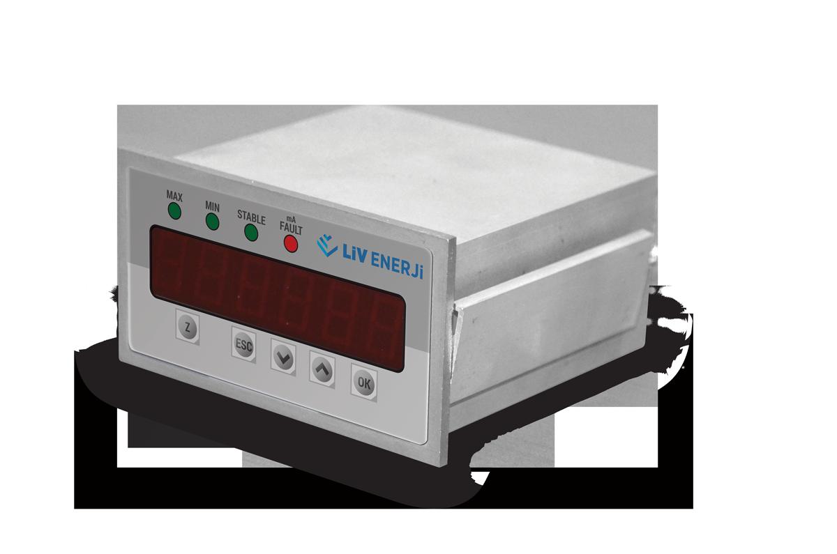 Çift Problu Kapasitif Seviye Sensörü (Eğik Milli)8