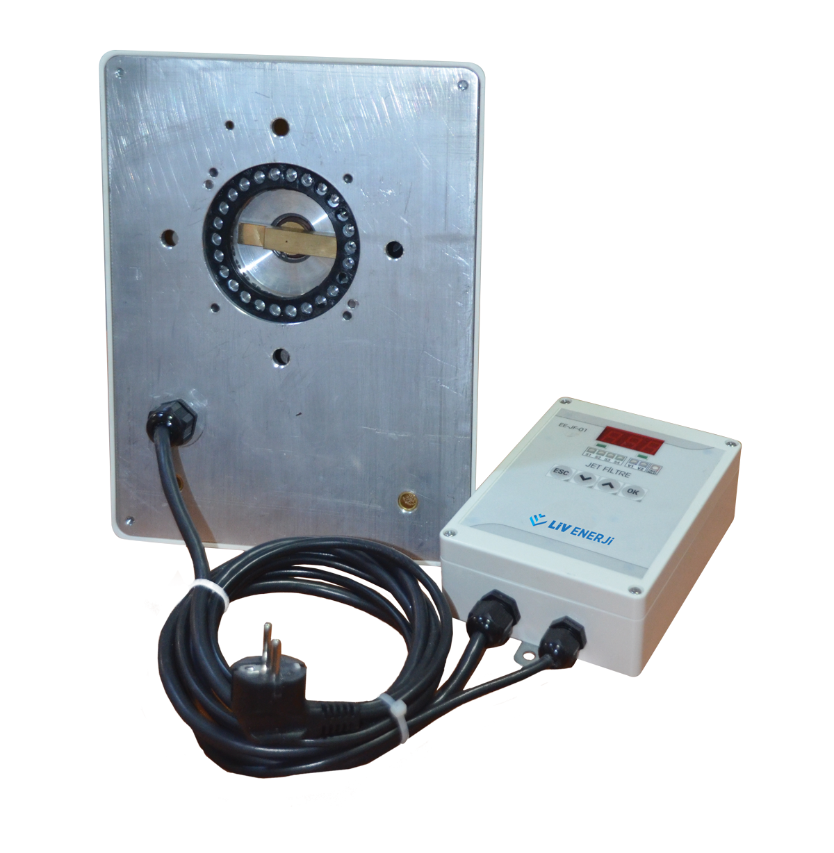 Double Probe Capacitive Level Sensor (with Sloped Shaft)10