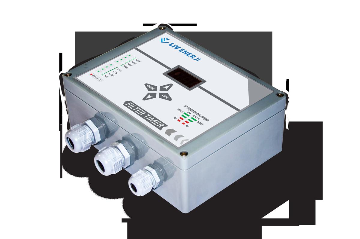 Çift Problu Kapasitif Seviye Sensörü (Eğik Milli)11