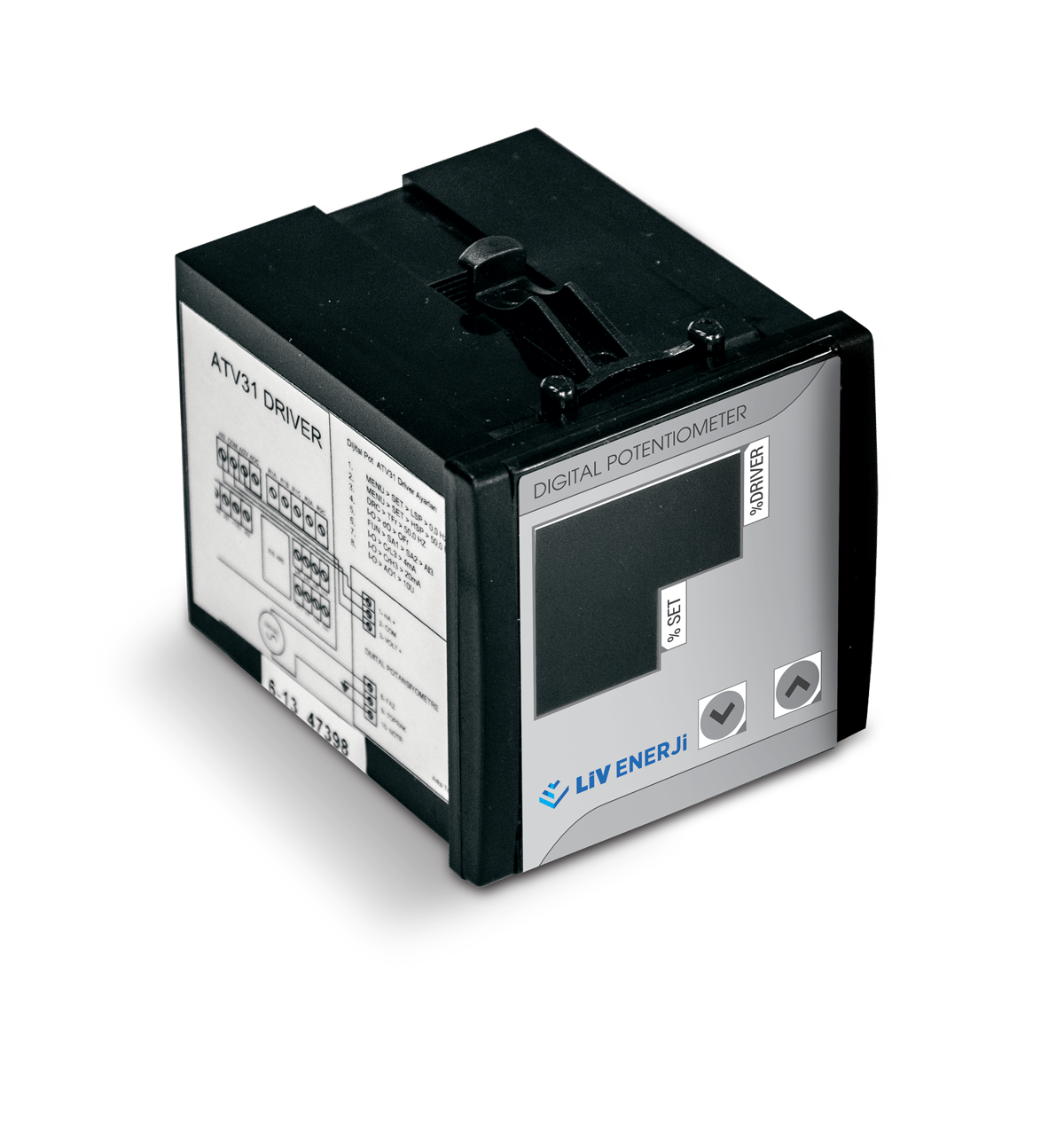 Double Probe Capacitive Level Sensor (with Sloped Shaft)17